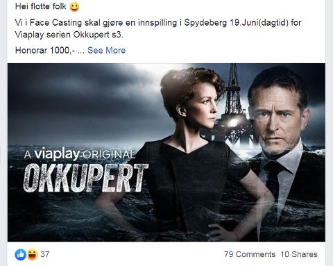POPULÆRT: Mange sendte en søknad etter at Maria Sand delte dette innlegget på Facebook-gruppen «Hva skjer i Spydeberg?».