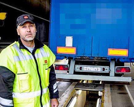 Fagleder Øyvind Grotterød skjønner ikke hvorfor sjåføren reagerte så sterkt.