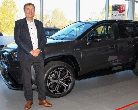 MER Å GJØRE: Administrerende direktør i Toyota Bilia Even Karlsen får nå ansvaret for ytterligere fem bilbutikker.