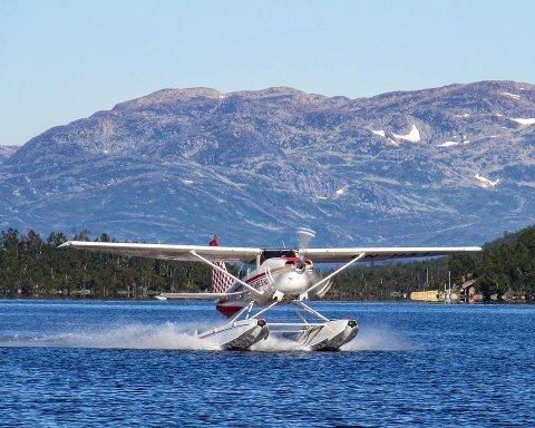 2.000 PASSASJERER: De siste årene har Scandinavian Seaplanes hatt mer enn 2.000 passasjerer årlig.