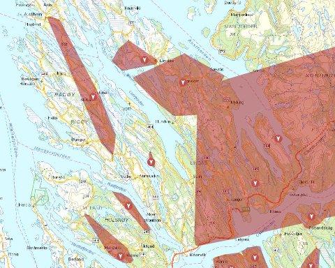 Framleis er fleire tusen straumkundar utan straum i Nordhordland og Gulen.