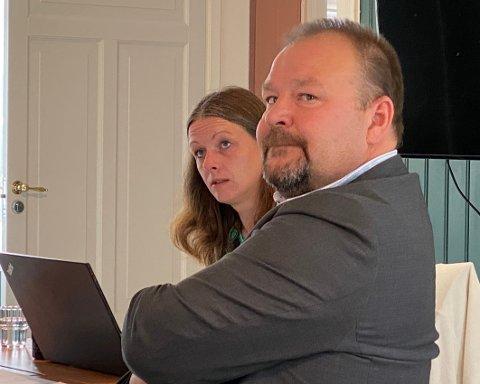 Heldige: – Dere er heldige som får være med på å meisle ut framtiden til kommunen, sa kommunedirektør Odd-Børge Pedersen i kommunestyret.