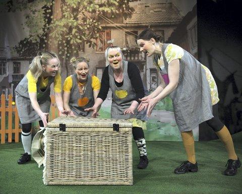 Bleiefaktoren er høy med vokalgruppen Taus. Fra venstre: Kristine Bjånes, Beate Blindheim Kvalsvik, Elin Hestenes og Irene Wenæs.