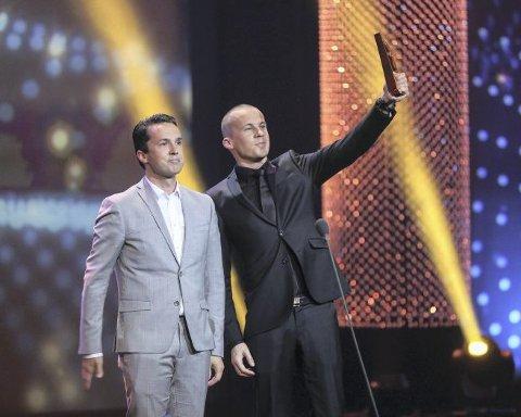 Bård og Vegard Ylvisåker fikk sin gullrute nummer to da «Stories From Norway» vant «Årets humorprogram».