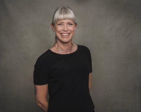 NY JOBB: Line Therese Løken (36) blir ny rådgiver for medvirkning og ungdomskultur i Øvre Eiker kommune.