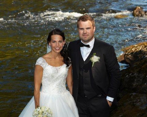 NYGIFTE: 3. august gifta Kristina A. Kalland og Endre Kalland seg i Eikefjord kyrkje.