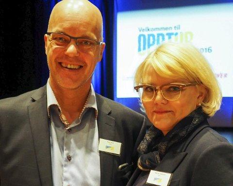 Arrangører: Hilde Normark og Kjetil Moe i Narvikregionen Næringsforening.