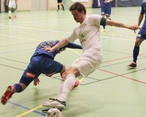 Hetest i norge: Børge Henriksen banket inn mål etter mål i kampen mot Grorud søndag. Det gjorde at han ble toppscorer i Eliteserien.  Arkivfoto