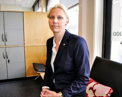 AASEN-SVENSRUD: Arbeiderpartipolitiker Maria Aasen-Svensrud støtter partileder Jonas Gahr Støre i måten Trond Giske-saken har vært håndtert på.