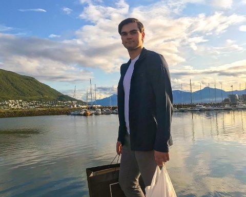 Mats Michalsen (19) er litt mer glad i klokker enn de fleste