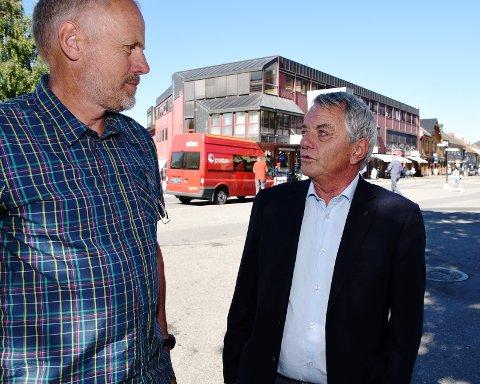 TILBAKEGANG: Olaf Nils Diserud og Fremskrittspartiet greier ikke å holde på oppslutningen fra valget i 2011.Foto: Knut Storvik