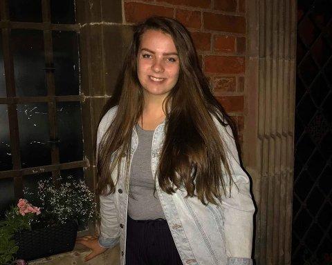UNGDOMSKANDIDAT: Maren Raknerud er en av Hadelands ungdomskandidater.