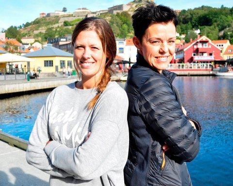 HAs håndballeksperter Nina Staal og Connie Hansen.  Arkivfoto: Atle Wester Larsen