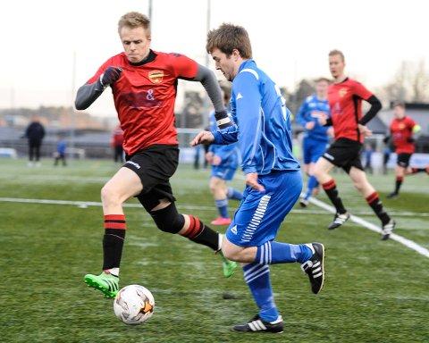 Lars Petter Stø og KOK IF (Kvik Halden 3) tapte for Kråkerøy 3 i 7. divisjon torsdag kveld.