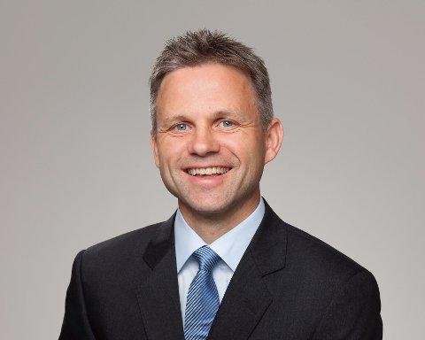 Stig Gunnar Røthe, adm. banksjef i Vekselbanken på Voss.