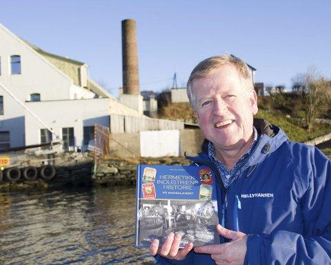 HISTORIE: «Hermetikkindustriens Historie» er en av bøkene fra Tor Inge Vormedal i år.ARKIVFOTO: CARSTEN KICKSTAT