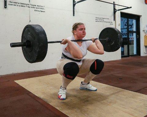 GRUDDE SEG: Kjersti Sofie Helland (20) grudde seg til gymtimene da hun gikk på barneskolen.