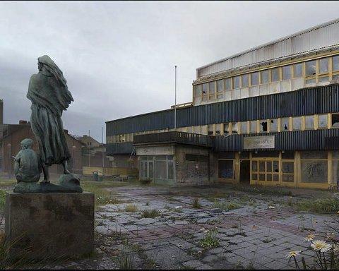 DYSTOPI: Forfallsspådommer som katalysator for nyskapning er temaet for Fredrik Ödmans utstilling «Reconstructing deconstruction».