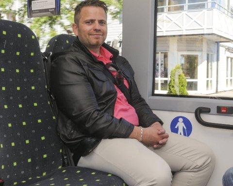 – kunne gjort mer: Leder Jon Arne Bergersen i Nettbuss mener firmaet kunne gjort mer for å opplyse publikum om det gode busstilbudet i Aurskog-Høland.foto: bjørn ivar bergerud
