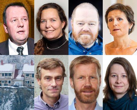 EKSPERTUTVALG: Disse personene er utvalgt av regjeringen til å finne ut hvorfor kvikkleireskredet i Gjerdrum ble utløst, en katastrofe som kostet ti mennesker livet.