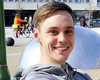 KOORDINATOR: Fredrik Svendsen fra Holmestrand. arkivfoto