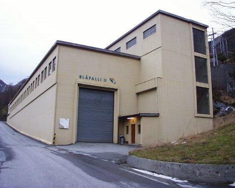 SKAL BORT: Blåfalli II blei bygd 1952. I mai i år skal kraftverket rivast.