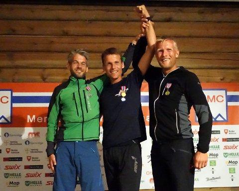 TIL TOPPS: Hallvard Schjølberg imponerte da han gikk til topps i Meråker Mountain Challenge og ble norgesmester for aller første gang.