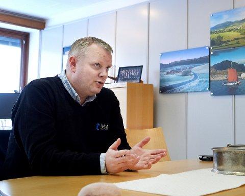 UTSATT: Daglig leder i Namdal næringsforening, Amund Lein forteller at den årlige næringslivskonferansen som normalt holdes i Namsos i slutten av november nå er utsatt til i januar 2021