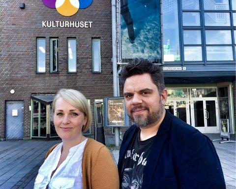 NY DAGLIG LEDER: Camilla Frantsen tok i juni over som daglig leder etter Kjetil Andreassen, produsent og styreleder i Tromsø Musikkskole. Foto: Tove Myhre