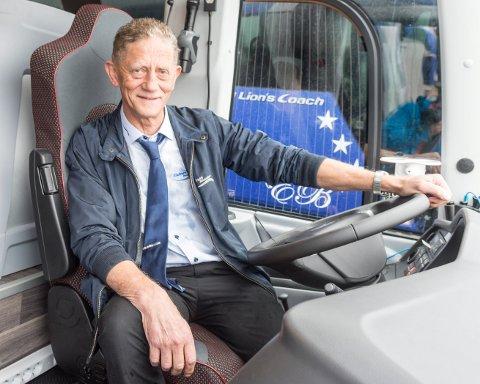 NYE SELSKAP: Tore Eldnes står inntil videre som daglig leder i nyoppstartede Beitstad Taxi AS og Osen Taxi AS.