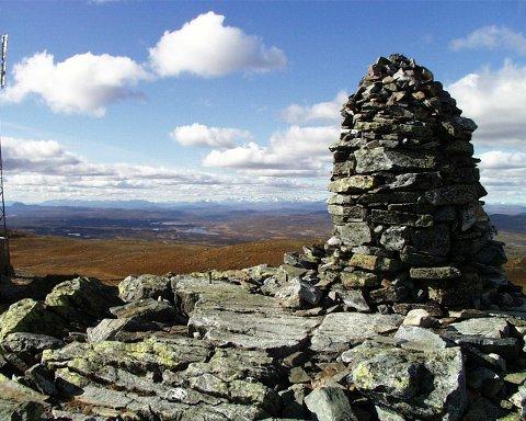 SPÅTIND: På 1414 meter over havet kan du nyte denne utsikten i Nordre Land.