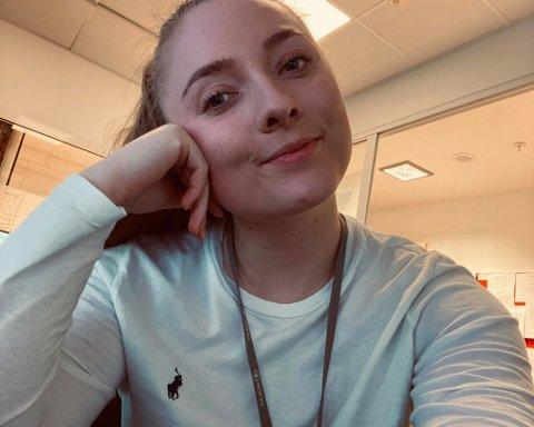 ENGASJERT: Andrea Holden fra Larvik har tidligere blitt utsatt for hets på sosiale medier. Nå engasjerer hun seg i saken.