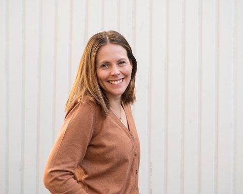 NY PÅ JOBB: Julie Skogen Jacobsen har fått ny jobb i Larvik.