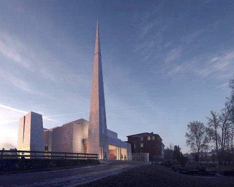 Biskopen vil ikke ha en boligblokk som tar oppmerksomhet bort fra den nye kirken.