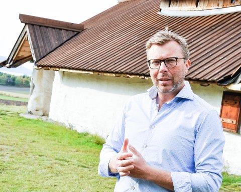 Har sluttet: Jan-Anders Dam-Nielsen, direktør i Buskerudmuseet.