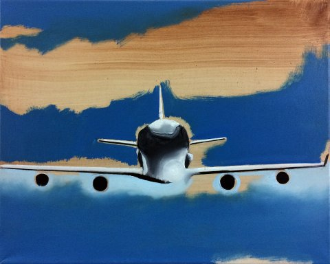 Fly:  Wilhelm Sasnal, Untitled, 2016.