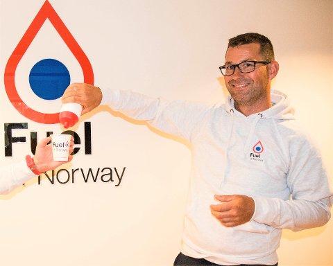 TROR PÅ SUKSESS: Morten Andresen (38) er nyansatt daglig leder for Fuel of Norway.