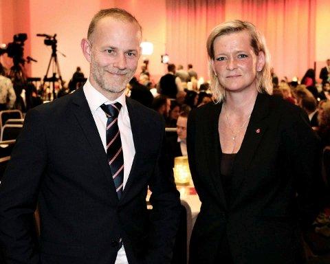VALGT INN: Mons-Ivar Mjelde og Anne Sandum blir valgt inn i Fylkestinget for Viken Arbeiderparti.