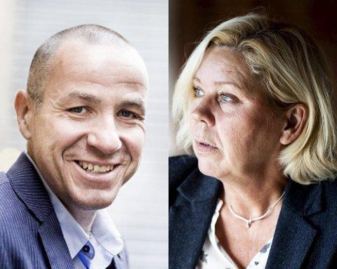 KJEMPET OM SAMME JOBB: Både Tom Staahle og Anita Orlund ønsket rådmannsstillingen i Gran kommune.