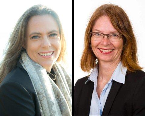 Cecilie Hunvik og  Henriette Hall melder seg ut av Lillestrøm Høyre.