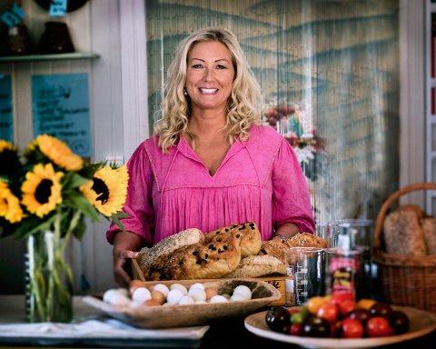 GLAD: - For meg er matlaging både passion og yrke sier Kajsa.