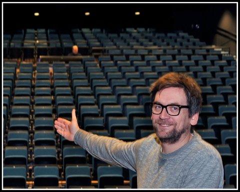 Velkommen: Halvor Titlestad ved Sarpsborg Scene har et sterkt ønske om å knytte til seg et nytt regionteater.