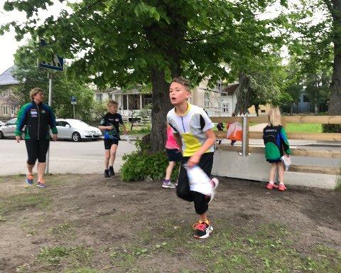 Til topps: Eskil Pehrsen-Lunde fra Sarpsborg OL vant klasse H11-12 sammenlagt.