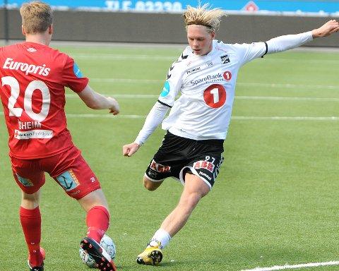 SJANSEN: André Sødlund starter sin første Odd-kamp mot Tromsø søndag.