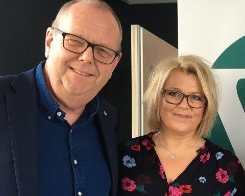 Pål Farstad og Britt Giske Andersen.