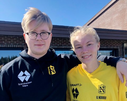 Nikolai Ulvund og Elise Hoel Ulseth var med i junior-NM i friidrett. Hoel Ulseth dro hjem med to gull og ett sølv.