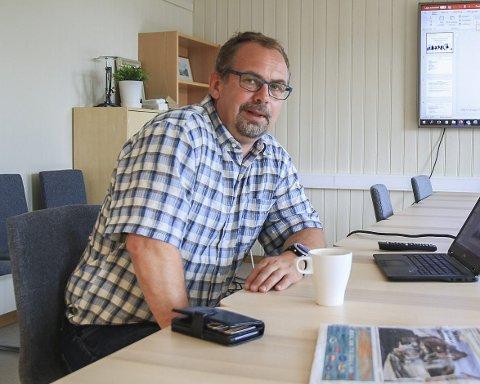 Kommuneøkonomi: Kommunedirektør Ole Petter Skjævestad har nå regnskapet for 2020 klart. Arkivfoto