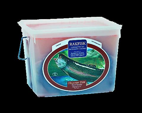 Haadem Fisk trekker tilbake produktet «Hel rakfisk i spann – 4 kg» med lotnummer 924. Årsaken er funn av listeriabakterier.