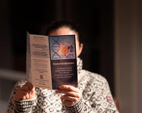 Mange i Valdres har fått brosjyre fra Foreningen for fritt vaksinevalg i postkassa de siste ukene.