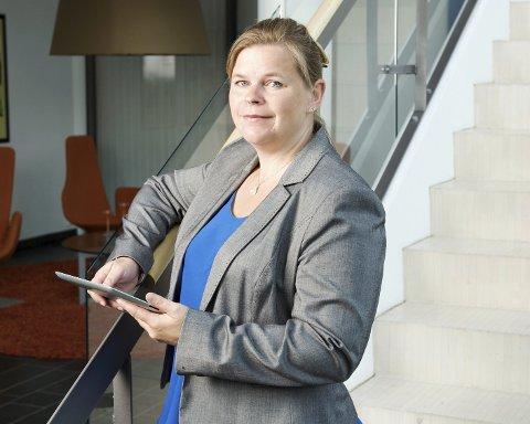 Trist: – Norske bedrifter vet ikke hvor ødeleggende et digitalt angrep kan være, sier Peggy Heie i NorSIS. Foto: Pressebilde